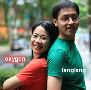 oxygen & langlang